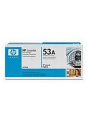 HP 53A LaserJet Black Print Cartridge with Smart Printing Technology