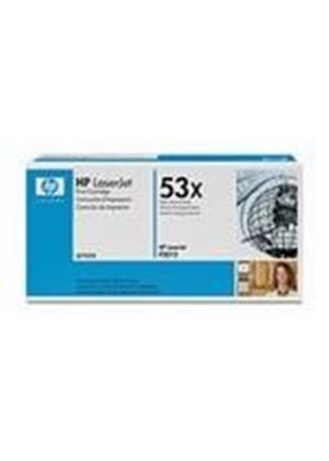 HP 53x LaserJet Black Print Cartridge (Yield 7,000 Pages)