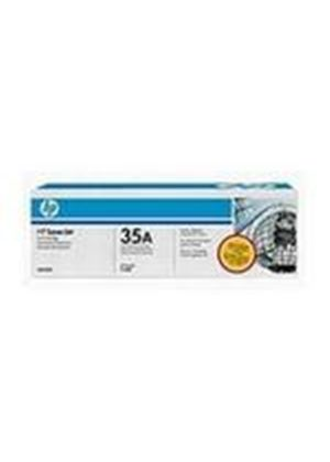 HP 35A LaserJet Black Print Cartridge with Smart Printing Technology