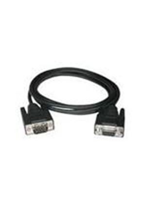 Cables To Go 1m DB9 M/F Extension Cable (Black)