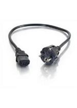 Cables To Go 0.5m Universal Power Cord (CEE 7/7)
