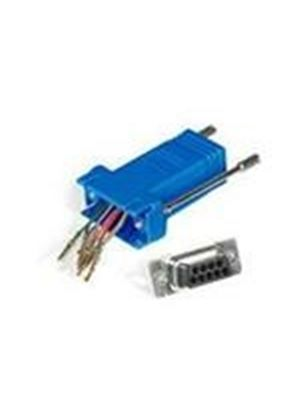Cables To Go RJ45/DB9M Modular Adaptor (Blue)