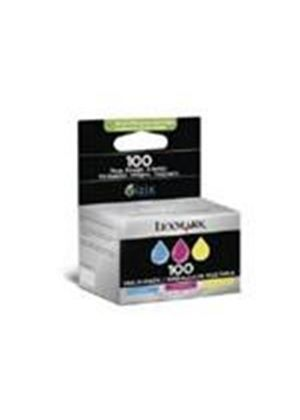 Lexmark 3-Pack 100 Color (Cyan/Magenta/Yellow) Return Program Ink Cartridges