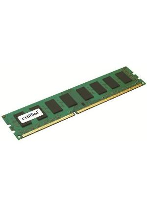 Crucial 2048MB PC3-10600 1333MHz DDR3 240-pin DIMM CL9 Unbuffered Non ECC Memory Module