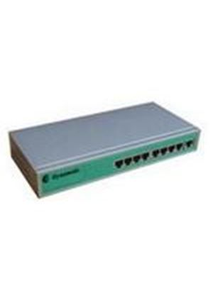 Dynamode 8 Port 10/100 Ethernet Switch with Metal Casing