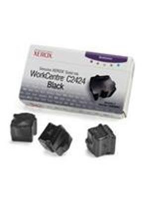 Xerox WorkCentre C2424 Solid Ink Black (3 sticks) Yield 3,400 Pages