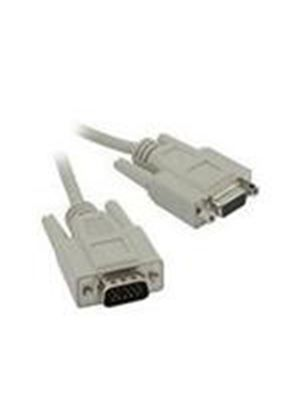 Cables To Go 2m Economy HD15 M/F SVGA Monitor Extension Cable
