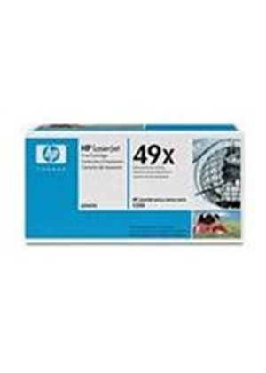 HP 49x Black Toner Cartridge (Yield 6000 Pages) for LaserJet 1320
