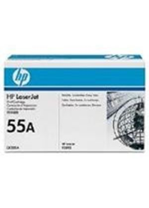 HP 55A LaserJet Black Print Cartridge with Smart Printing Technology