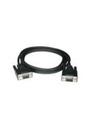 Cables To Go 0.5m DB9 F/F Null Modem Cable (Black)