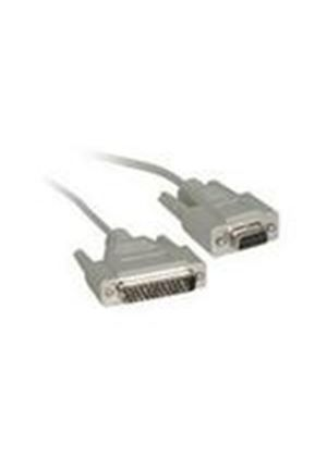 Cables To Go 1m DB25M to DB9F Null Modem Cable