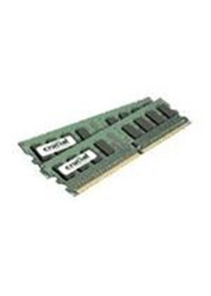 Crucial 2048MB (2 x 1024MB) 667MHz PC2-5300 DDR2 Memory Module