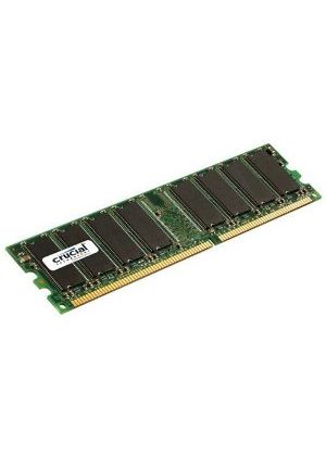 Crucial 1024MB PC2-6400 800MHz DDR2 240-pin DIMM CL6 Unbuffered Non ECC Memory Module