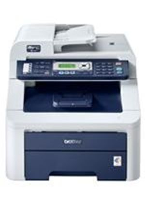 Brother MFC-9120CN Network Ready Colour Printer, Colour Fax, Colour Copier and Colour Scanner - 16ppm, 600 x 600