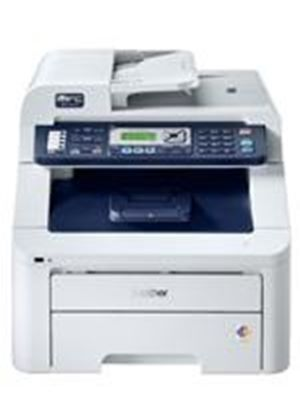 Brother MFC-9320CW Wireless Network Ready Colour Printer, Colour Fax, Colour Copier and Colour Scanner - 16ppm, 600 x 600