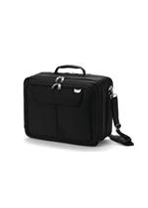 "Dicota 15.4"" UltraCase Twin Notebook Bag (Light Grey/Grey)"