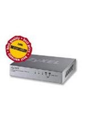 ZyXEL ES105A 5 port 10/100 Unmanaged Desktop Switch with VIP ports for Quality of Service