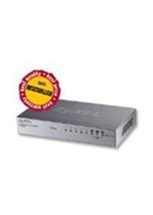 ZyXEL ES108A 8 port 10/100 Unmanaged Desktop Switch with VIP ports for Qaulity of Service