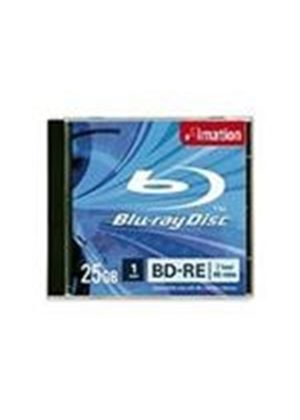 Imation BD-RE 25GB 1-2X Single Layer Recordable Blu-ray Disc - Jewel Case (1 Pack)