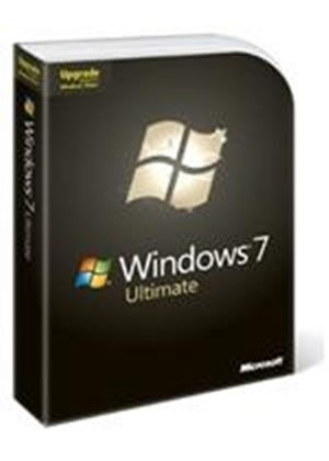Microsoft Windows 7 Ultimate Edition Upgrade English Rest of World DVD