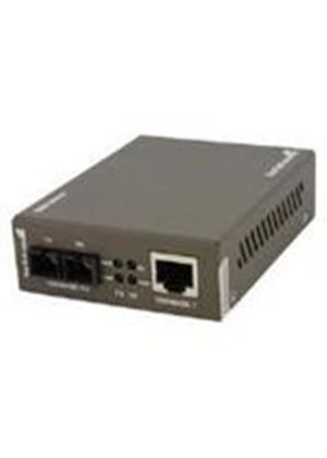 StarTech 1000 Mbps Gigabit Multi Mode Fiber Ethernet Media Converter SC (550m)