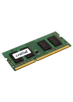 Crucial 2048MB Memory Module PC3-8500 1066MHz DDR3 Unbuffered Non-ECC CL7 204-pin SO-DIMM
