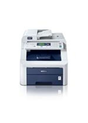 Brother DCP-9010CN Colour All-In-One Printer (Print/Copy/Scan) 64MB 16ppm (M) 16ppm (C) 250 Sheets ADF