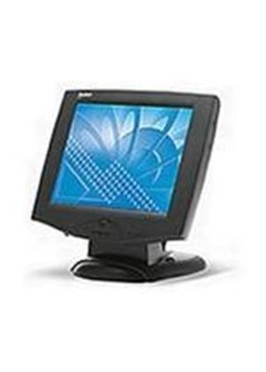 3M M150 Touch Screen Monitor 15 inch TFT LCD 350:1 250cd/m2 1024 x 768 25ms VGA USB (Black)