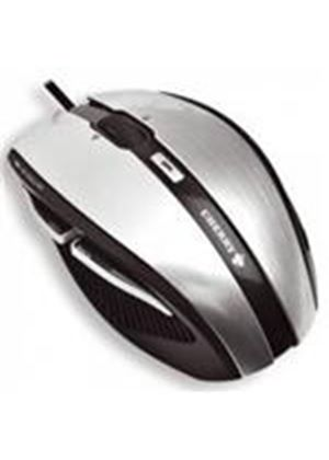 Cherry JM-0200 XANA Corded Laser Mouse (Black/Silver)