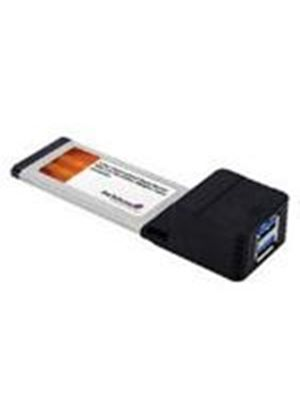 StarTech 2 Port ExpressCard SuperSpeed USB 3.0 Card Adaptor