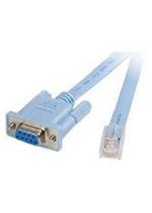 StarTech RJ45 to DB9 Cisco Console Management Router Cable - M/F (1.8m)