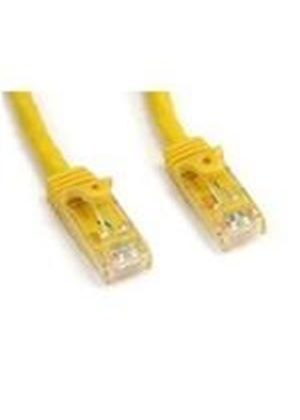 StarTech Yellow Snagless Cat6 UTP Patch Cable - ETL Verified (7.62m)