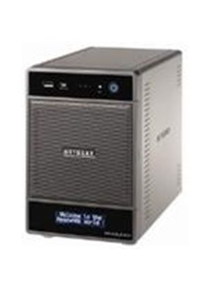 Netgear RNDU4000 ReadyNAS Ultra 4 Bay Multimedia Desktop Storage System with iSCSI