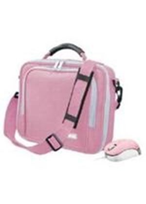 "Bundle: Trust 10"" Netbook Carry Bag with Micro Mouse (Pink)"