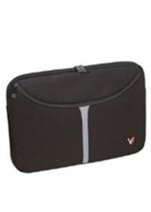 "V7 10.2"" Professional Laptop Sleeve (Black) Upto 26x3.2x17.1cm"