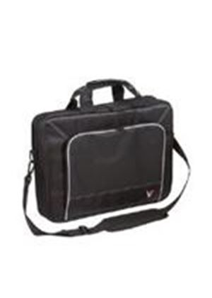 "Targus V7 16"" Professional Toploader Laptop Case (Black) Upto 38.1x3.8x26cm"