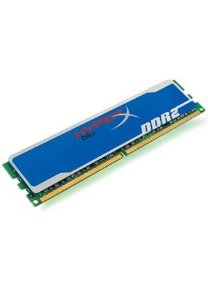 Kingston HyperX Blu 1GB 800MHz PC2-6400 DDR2 SDRAM Non-ECC Unbuffered (5-5-5-15)