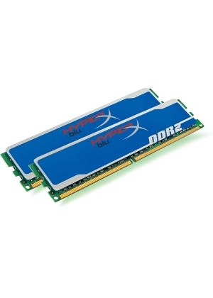 Kingston HyperX Blu 4GB  800MHz PC2-6400 DDR2 SDRAM Non-ECC Unbuffered (5-5-5-15)