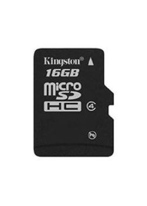 Kingston 16GB MicroSDHC Memory Card W/o Adapter