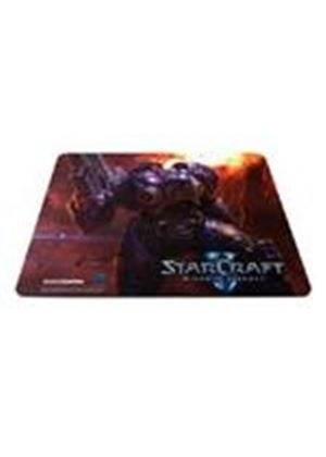 SteelSeries QcK Limited Edition (StarCraft II Tychus Findlay) Mousepad with Gaming Surface