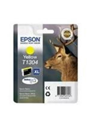 Epson T1304 Yellow Ink Cartridge (Retail Packed, Untagged) for BX320FW/BX525WD/BX625FWD/SX525WD/SX620FW
