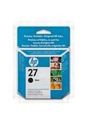 HP No.27 Black Ink Cartridge 10ml (Yield 220 Pages) for the InkJet Printer (Blister)