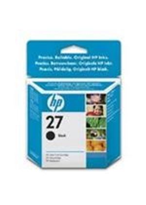 HP No.27 Black Ink Cartridge 10ml (Yield 220 Pages) for the InkJet Printer