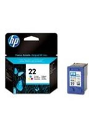 HP No.22 Tri-Colour (Yield 165 Pages) InkJet Print Cartridge (Blister)