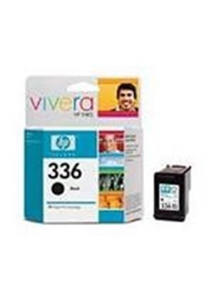 HP No.336 (Yield 210 Pages) Black Inkjet Print Cartridge (5ml)