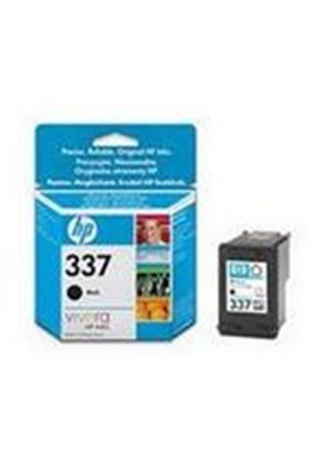 HP No.337 ((Yield 400 Pages) Black Ink Cartridge (11ml)