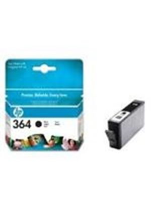 HP No.364 Photosmart (Black) Ink Cartridge (Yield 250 Pages) with Vivera Ink Blister