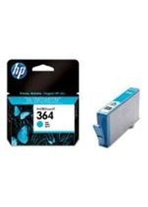 HP No.364 Photosmart (Cyan) Ink Cartridge (Yield 300 Pages) with Vivera Ink Blister