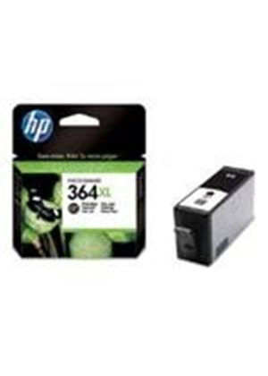 HP No.364XL Photosmart (Black) Ink Cartridge (Yield 290 Photos) with Vivera Ink Blister