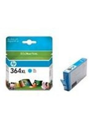 HP No.364XL Photosmart (Cyan) Ink Cartridge (Yield 750 Pages) with Vivera Ink Blister